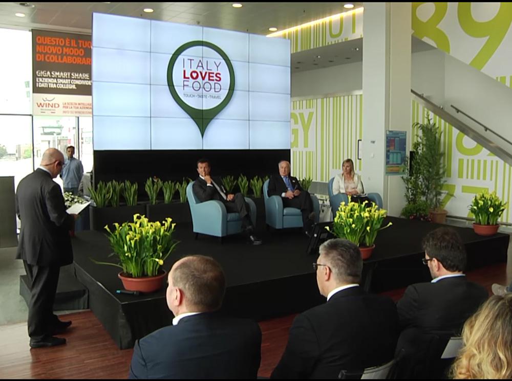 Sacbo presenta Italy Loves Food