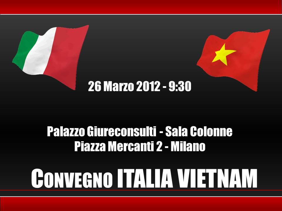 Convegno Italia Vietnam