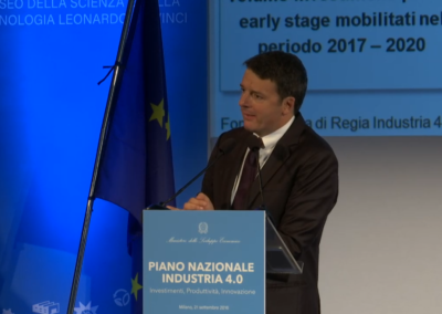 Piano Nazionale Industria 4.0 – Renzi e Calenda
